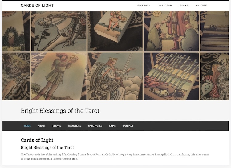 Cards of Light Website