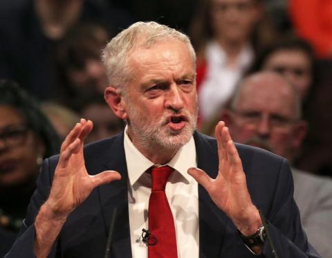 Corbyn in Geneva