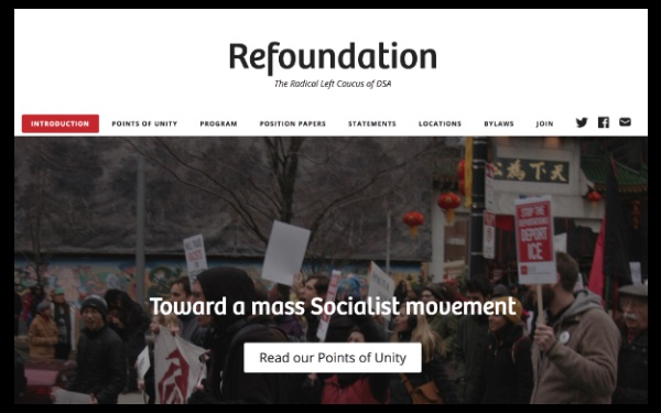 DSA Refoundation Website