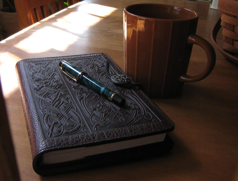Journal, Pen and Mug