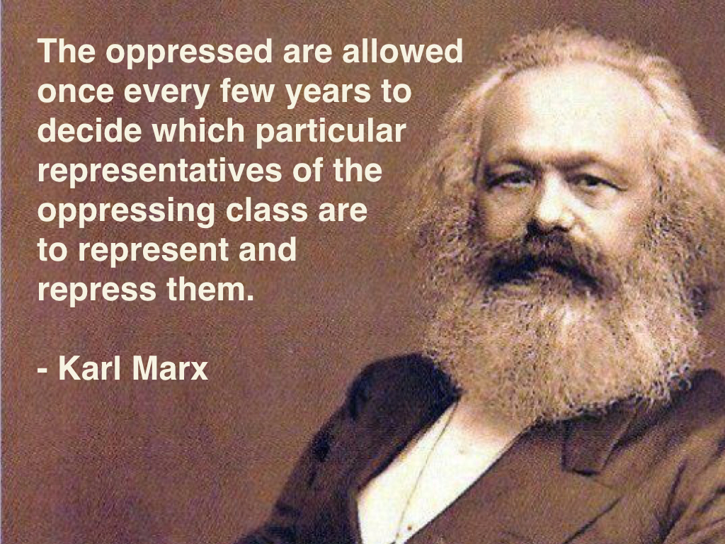 Marx on Elections Under Capitalism