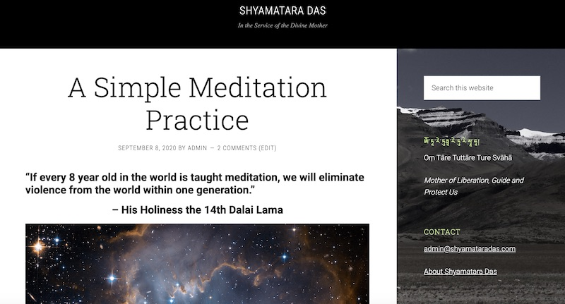 Shyamtaradas Site